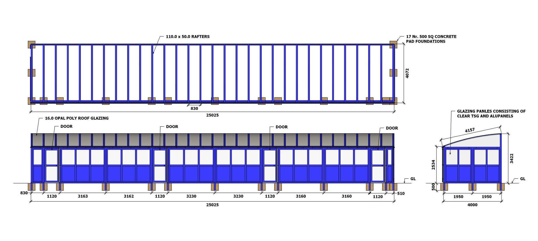 Bricknell PS - Elevations