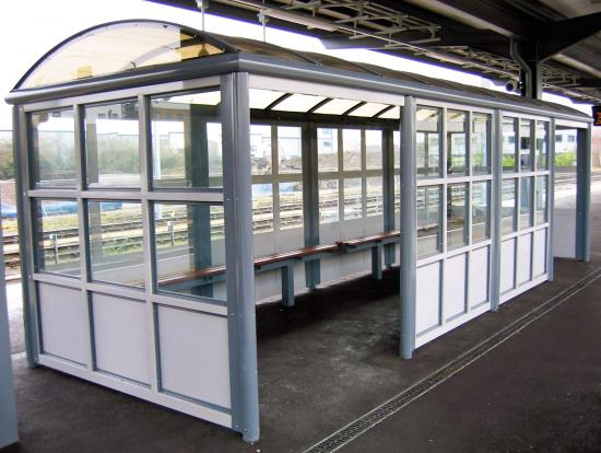 Cambridge Waiting Shelter - View 1