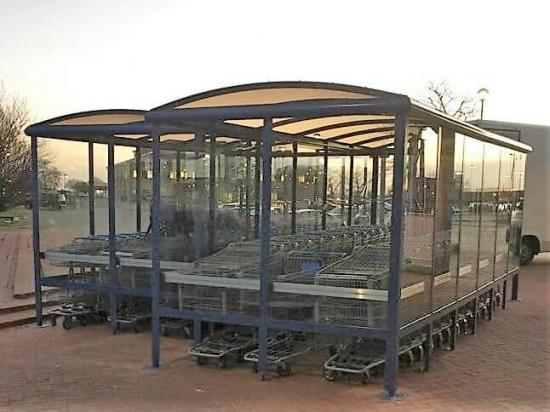 Trolley shelters 1