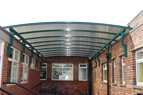 Dome wall mounted Canopy
