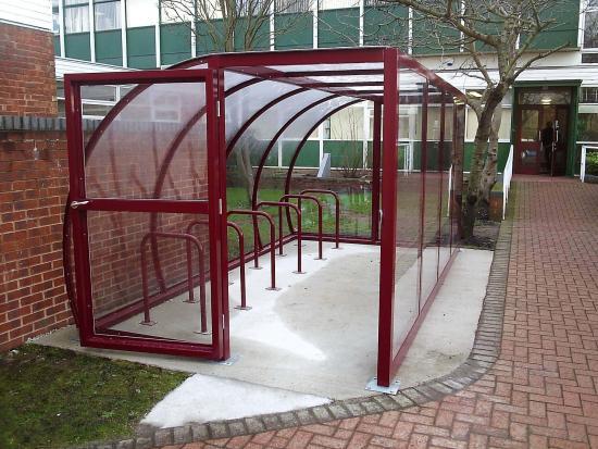 4.0 x 2.5M Maricourt Cycle Shelter